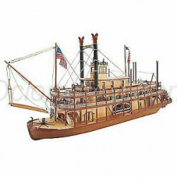 Barco de vapor King of Mississippi. Escala 1:80. Marca Artesanía Latina. Ref: 20505.