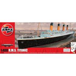 Transatlantico  R.M.S. Titanic Gift. Escala: 1:400. Marca: Airfix. Ref: A50146A.