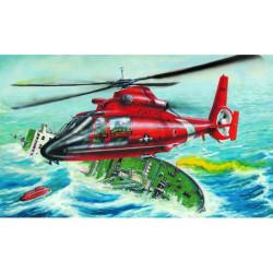 Helicóptero US HH-65A DOLPHIN. Escala 1:48. Marca Trumpeter. Ref: 02801.