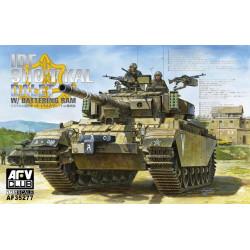 """IDF Sho't Kal Dalet, """"Centurion"""". Escala 1:35. Marca AFV Club. Ref: AF35277."""