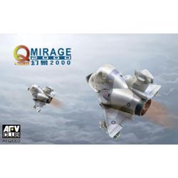 Q-Mirage2000. Serie toons. Marca AFV CLUB. Ref: AFQ002.