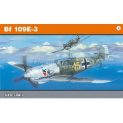 Messerschmitt Bf 109E-3 (Profipack). Escala 1:48. Marca Eduard. Ref: 8262.