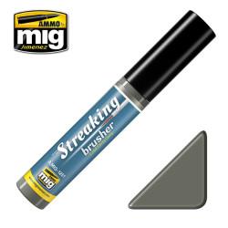 Streakingbrusher: cold dirty grey, gris sucio frio. Marca Ammo of Mig Jimenez. Ref: AMIG1251.