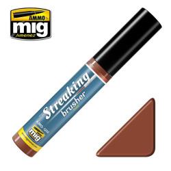 Streakingbrusher: Rust, óxido. Marca Ammo of Mig Jimenez. Ref: AMIG1254.