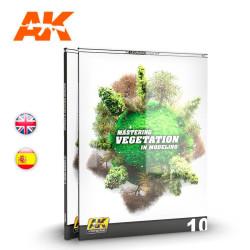 Dominando la vegetación en modelismo – LEARNING 10. Marca AK Interactive. Ref: AK296.