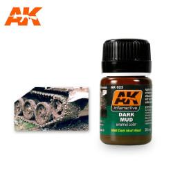 Efecto Lodo oscuro mate. Bote de 35 ml. Marca AK Interactive. Ref: AK023.