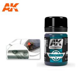 Lavado FUGAS Y MANCHAS DE QUEROSENO. Bote de 35 ml. Marca AK Interactive. Ref: AK2039.