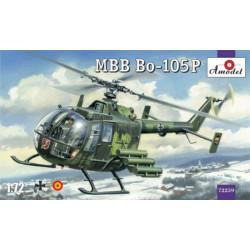 MBB Bo-105P. Escala 1:72. Marca Amodel. Ref: 72259.