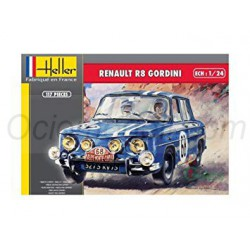 Renault R8 gordini. Escala 1:24. Marca Hasegawa. Ref: 29103.