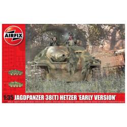 "Jagdpanzer 38(T) Hetzer ""early version"". Escala 1:35. Marca Airfix. Ref: A1355."