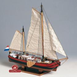 SILHOUET 1893, Barca fluvial holandesa. Escala 1:60. Marca Constructo. Ref: 80831.