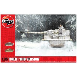 Tiger-1, Mid Version. Escala 1:35. Marca Airfix. Ref: A1359.