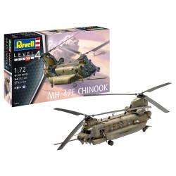 Helicóptero MH-47E  CHINOOK. Escala 1:72. Marca Revell. Ref: 03876.