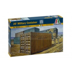 20' Military Container. Escala 1:35. Marca Italeri. Ref: 6516.