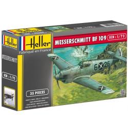 Messerschmitt Bf 109 B1/C1. Escala 1:72. Marca Heller. Ref: 80236.