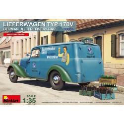 LIEFERWAGEN TYP 170 V CERVEZA ALEMANA, coche de reparto. Escala 1:35. Marca Miniart. Ref: 38035.