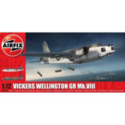 Set Vickers Wellington GR Mk.VIII. Escala 1:72. Marca Airfix. Ref: A08020.