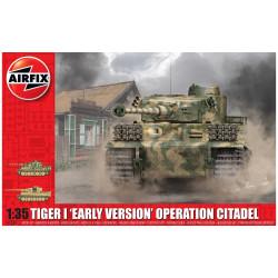 Tiger-1, Early Version, operación Citadel. Escala 1:35. Marca Airfix. Ref: A1354.