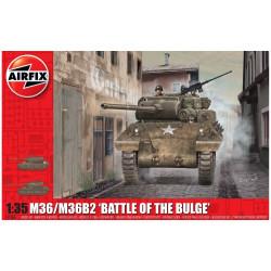 M36/M36B2, Battle of the Bulge. Escala 1:35. Marca Airfix. Ref: A1366.