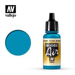 Acrilico Model air,Azul AF Ruso. Bote 17 ml. Marca Vallejo. Ref: 71.333.
