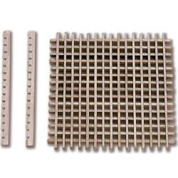 Enjaretado Boj 50 x 50 mm ( 1 unidad ). Marca Constructo. Ref: 80050.