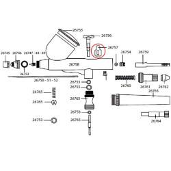 Desplazador Aguja D-102 (26020-26021). Marca Dismoer. Ref: 26757.