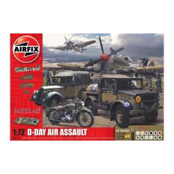 Set 75th Batalla D-Day The Sea Assault Gift. Escala 1:72. Marca Airfix. Ref: A50157A.