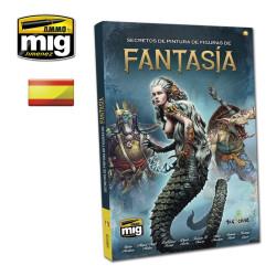 Secretos de pintura de figuras de Fantasía. Marca Ammo Mig. Ref: A.MIG6126.