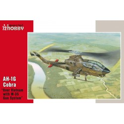 "AH-1G Cobra "" Over Vietnam with M-35 Gun System "". Escala 1:72. Marca Special Hobby. Ref: 72076."
