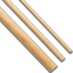 Varilla madera Tilo 12 x 1000 mm. 2 unidades. Marca Dismoer. Ref: 35058.