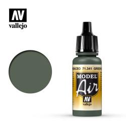 Acrilico Model air, Verde grisáceo. Bote 17 ml. Marca Vallejo. Ref: 71.341.