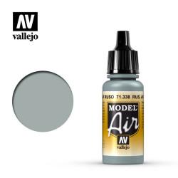 Acrilico Model air, Gris Azul AF Ruso. Bote 17 ml. Marca Vallejo. Ref: 71.338.