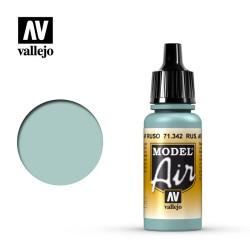 Acrilico Model air, Azul Claro AF Ruso. Bote 17 ml. Marca Vallejo. Ref: 71.342.