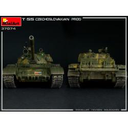 T-55 CZECHOSLOVAK PRODUCTION. Escala 1:35. Marca Miniart. Ref: 35074.