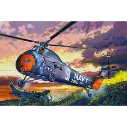 Helicóptero H-34 US Navy Rescue. Escala 1:48. Marca Trumpeter. Ref: 02882.