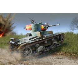 Soviet T-26 Light Infantry Tank Mod.1936/37. Escala 1:35. Marca Hobby Boss. Ref: 83810.