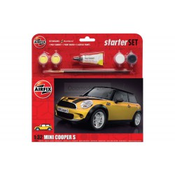 Mini coopers, Starter. Escala 1:32. Marca Airfix. Ref: A55310.