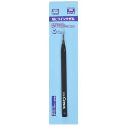 Cincel lineal, line chisel. 0.3 mm. Marca MR Hobby. Ref: GT65.