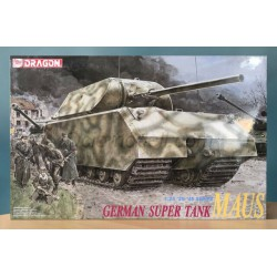 German super tank MAUS. Escala 1:35. Marca Dragon. Ref: 6607.