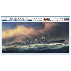 "IJN DESTROYER TYPE KOH HAMAKAZE ""MIDWAY SUPER DETAIL"". Escala 1:350. Marca Hasegawa. Ref: 40101."