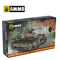 Panzer I Ausf. A Breda - Spanish Civil War light tank . Marca Ammo of Mig Jimenez. Ref: AMIG8503.