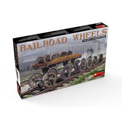Wheels Railroad. Escala 1:35. Marca Miniart. Ref: 35607.
