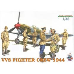 Figuras VVS Fighter crew 1944. Escala 1:48. Marca Eduard. Ref: 8509.