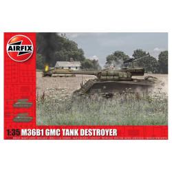 M36B1 GMC, U.S. ARMY. Escala 1:35. Marca Airfix. Ref: A1356.