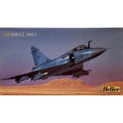 Set Mirage 2000 C. Escala 1:48. Marca Heller. Ref: 80426.