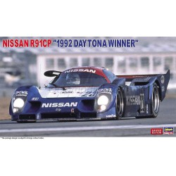 Nissan R91CP, ganador de Daytona 1992. Escala 1:24. Marca Hasegawa. Ref: 20424.