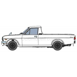 Nissan Sunny Truck con alerón. Escala 1:24. Marca Hasegawa. Ref: 20427.