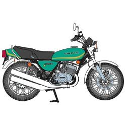 Kawasaki KH250-B3 / B4. Escala 1:12. Marca Hasegawa. Ref: 21508.