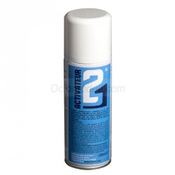 Activador de pulverización Para Pegamentos de Cianoacrilato. Bote de 200 ml. Marca Colla21. Ref: Activador21.