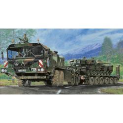 Faun Elephant SLT-56 Panzer transporter. Escala 1:35. Marca Trumpeter. Ref: 00203.